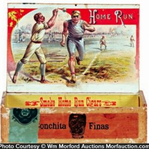 Home Run Cigar Box
