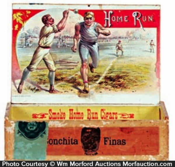 Home Run Cigar Box