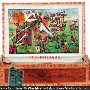 Fire Brigade Cigar Box