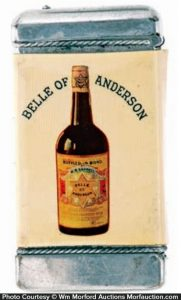 Belle Of anderson Match Safe