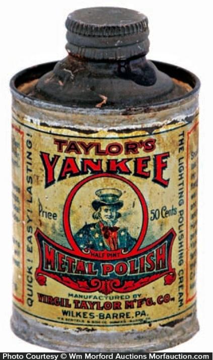 Yankee Metal Polish Tin