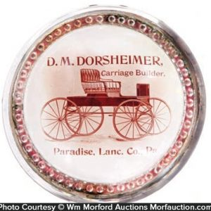 Dorsheimer Carriage Paperweight