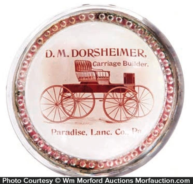 Dorsheimer Carriage Paperweight