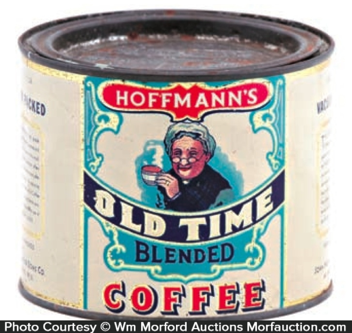 Hoffmann's Old Time Coffee Can
