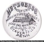 Metzger Roofing Materials Paperweight