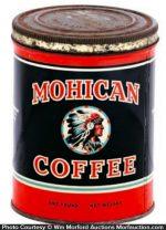 Mohican Coffee Tin