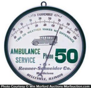 Ambulance Service Thermometer