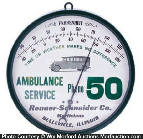 Ambulance Service Thermometer