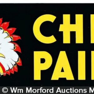 Chief Paints Sign