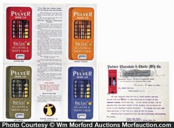 Pulver Yellow Kid Vending Machine Ad