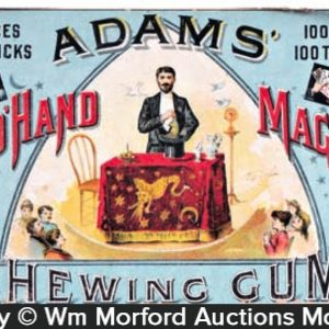 Adams Gum Magic Trick Box