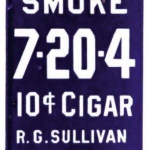 7-20-4 Cigar Door Push