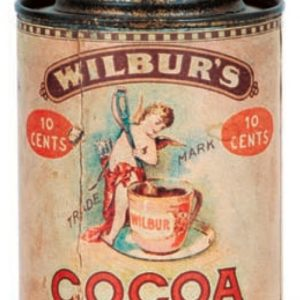 Wilbur's Cocoa Tin