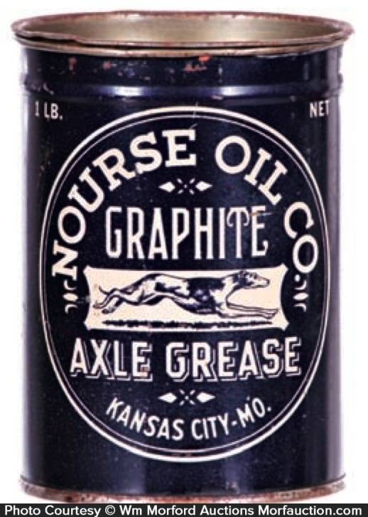 Nourse Axle Grease Can