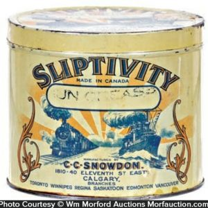 Sliptivity Grease Tin Can