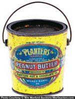 Planters Peanut Butter Pail