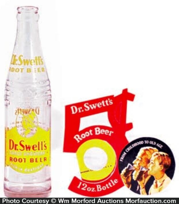 Dr. Swett's Root Beer Bottle Topper