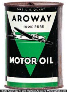 Aroway Motor Oil Can