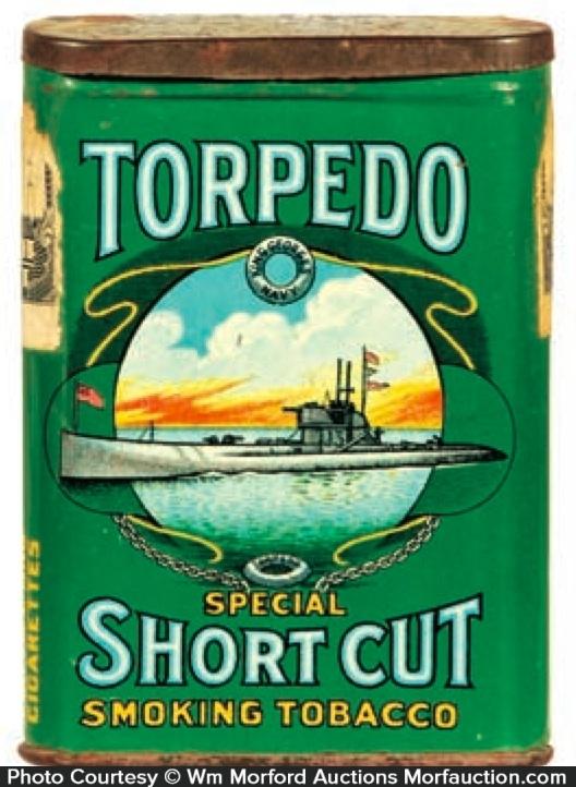 Torpedo Tobacco Tin