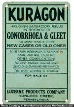 Luzerene Kuragon Gonorrhoea Sign