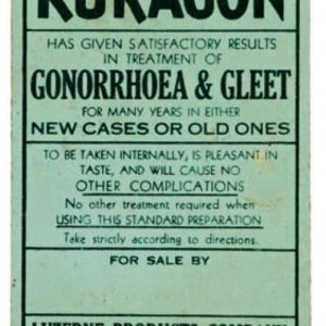 Luzerene Kuragon Gonorrhoea Sign