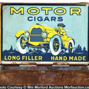 Motor Cigar Tin
