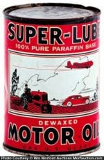 Super-Lube Oil Can