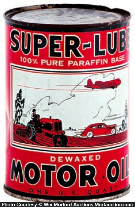 Super-Lube Oil Can