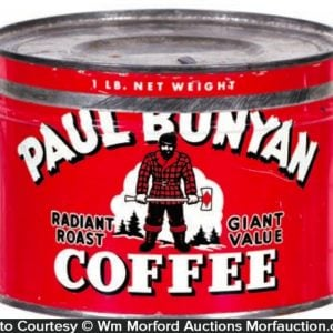 Paul Bunyan Coffee Can