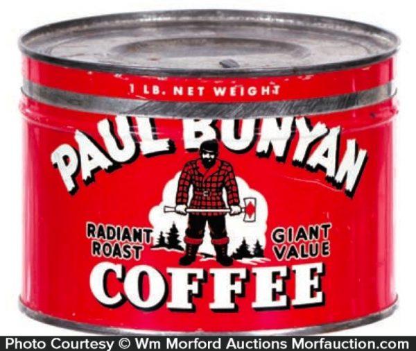 Paul Bunyan Coffee Can