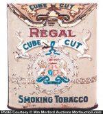 Regal Cube Cut Tobacco Tin