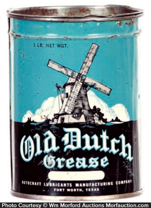 Old Dutch Grease Can
