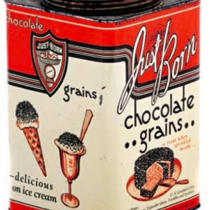 Just Born Chocolate Grains Tin