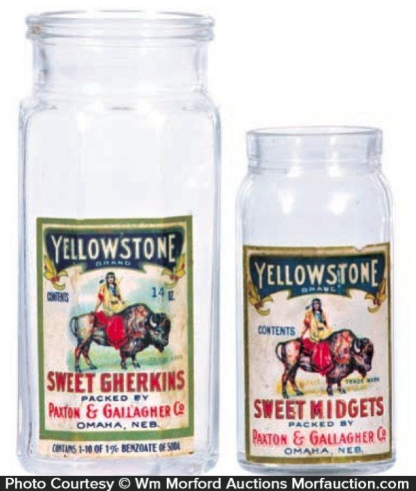 Yellowstone Pickle Jars