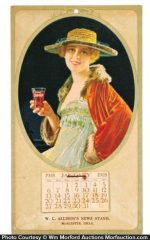 1918 Coca-Cola Calendar