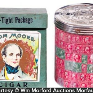 Tom Moore Cigar Jar