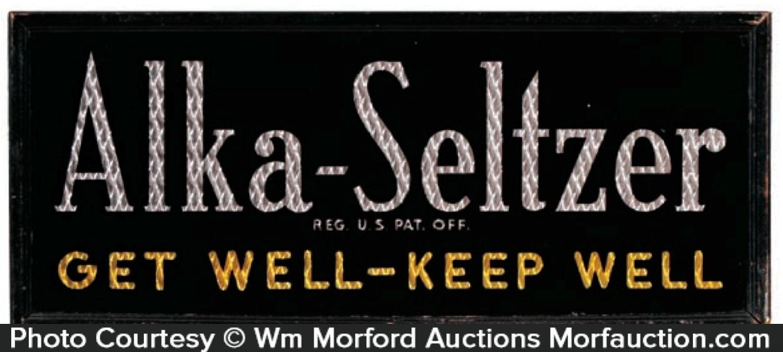 Alka-Seltzer Sign