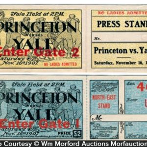 Princeton Vs. Yale Football Tickets