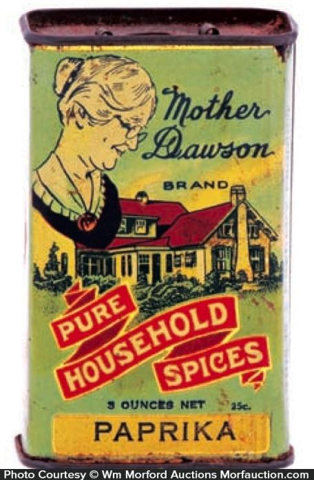Mother Dawson Spice Tin