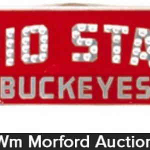 Ohio State Buckeyes Plate Topper