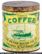 Ocean Blend Coffee Can