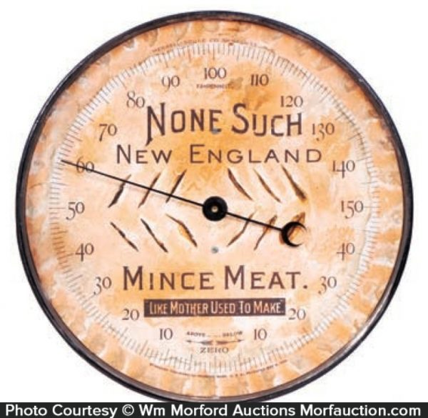 None Such Mince Meat Thermometer