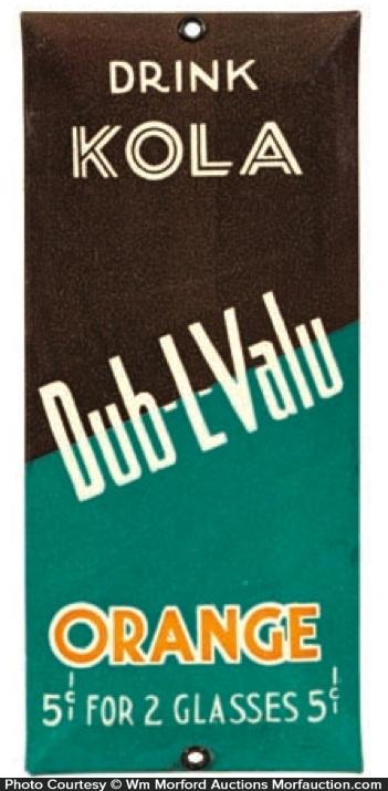 Dub-L-Valu Soda Door Push