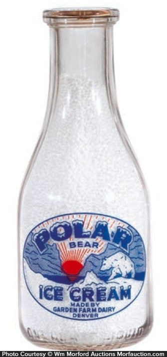 Polar Bear Milk Bottle