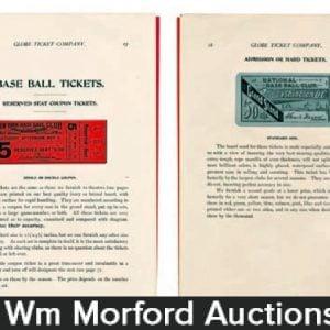 Globe Ticket Catalog