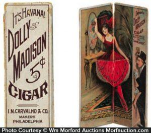 Dolly Madison Cigar Trade Card