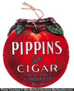 Pippin's Cigars Sign