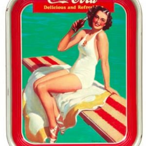 1939 Coke Tray
