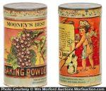 Mooney's Baking Powder Tin