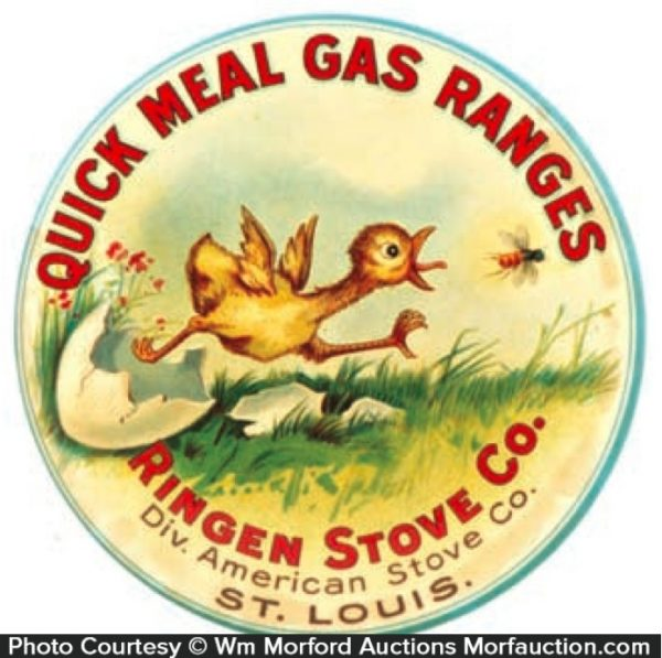 Quick Meal Ranges Paperweight Mirror